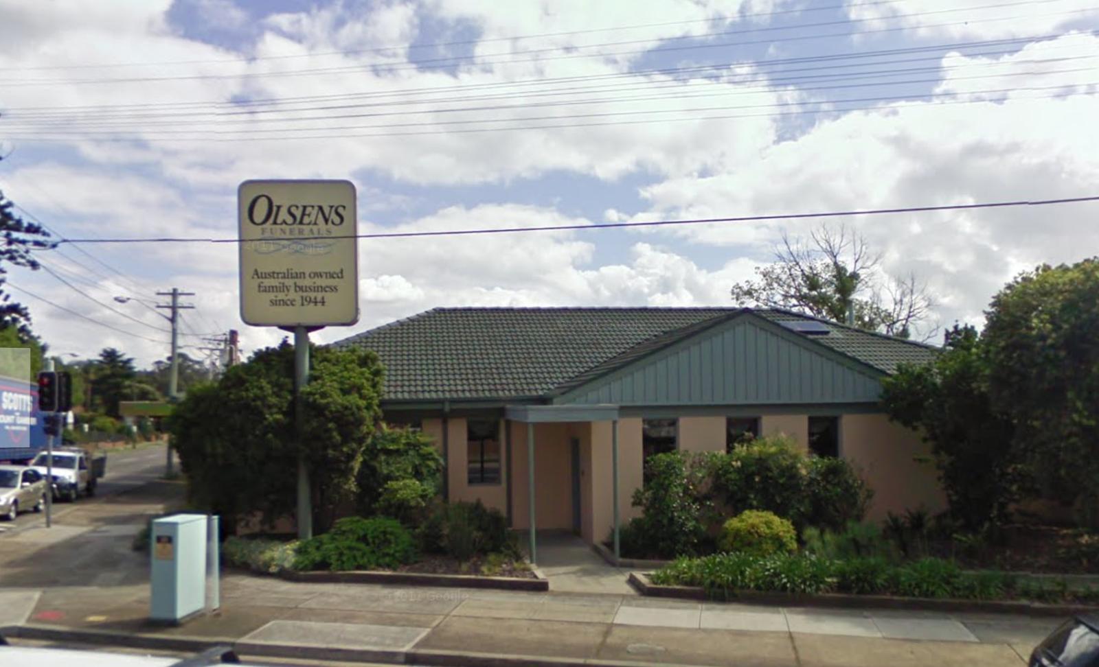 olsens funeral home