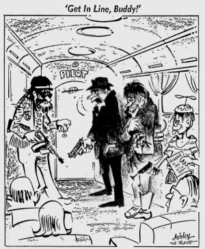 Toldeo Blade Cartoon 1972