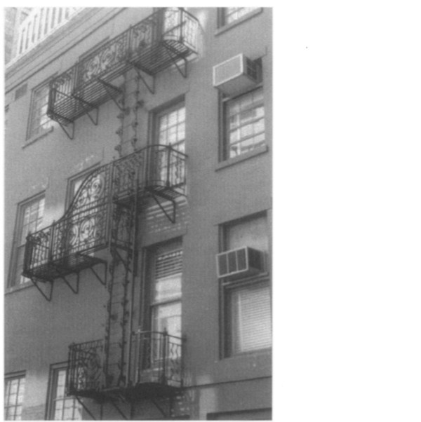 ornamental fire escape