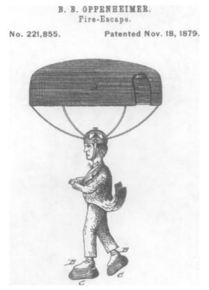 parachute hat
