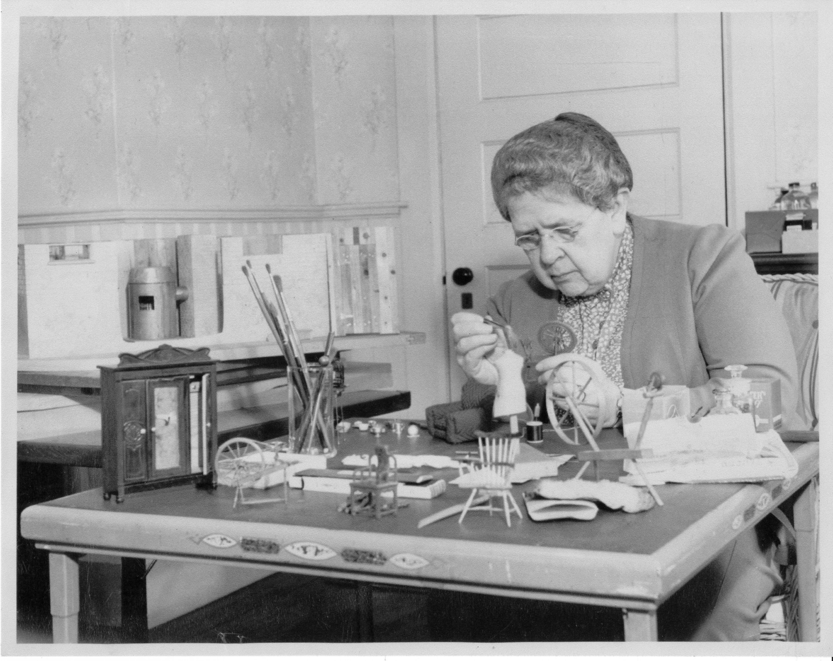 The Nutshell Studies of Unexplained Death, Dioramas, Frances Glessner Lee