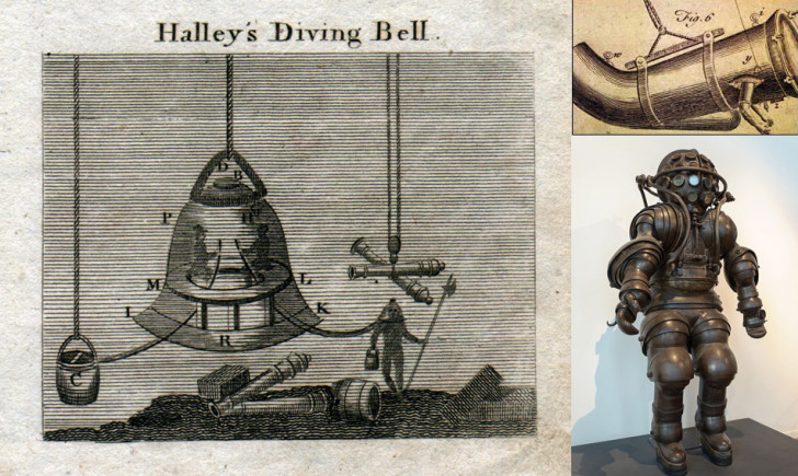 diving bells and suits