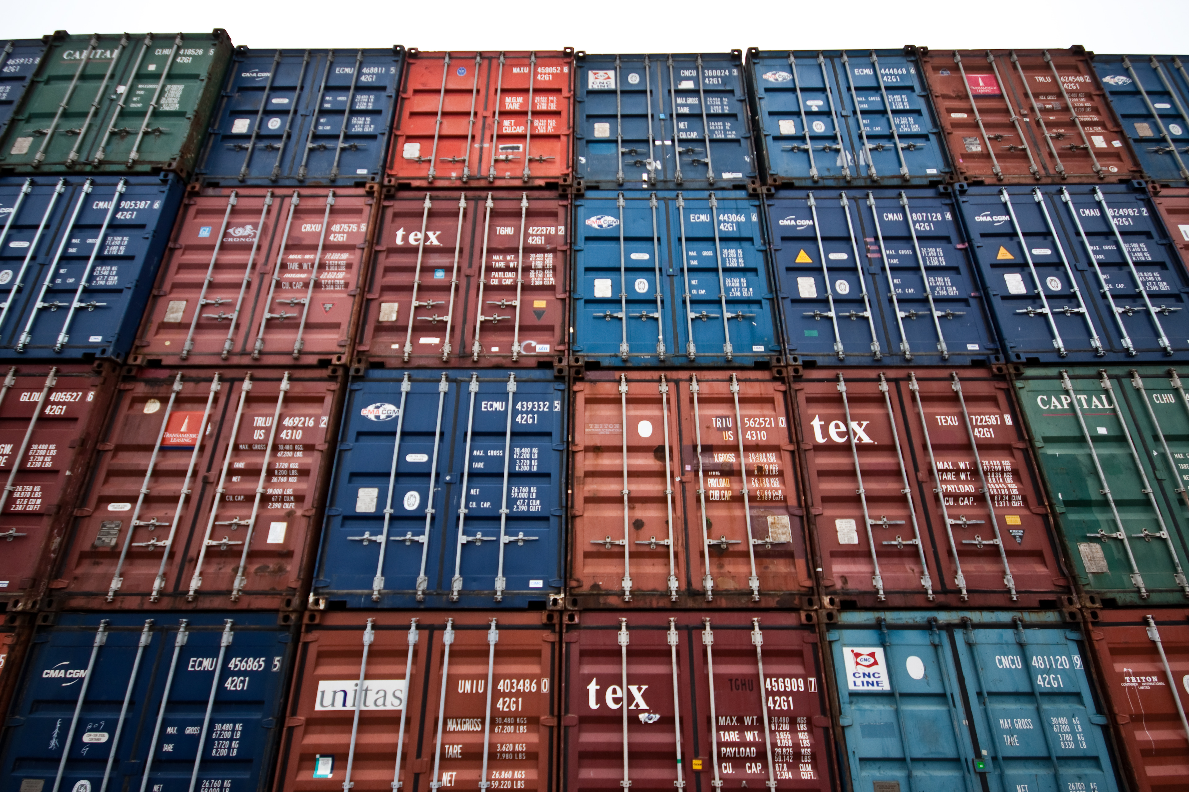 Reefer Madness Invisible - Shipping containers