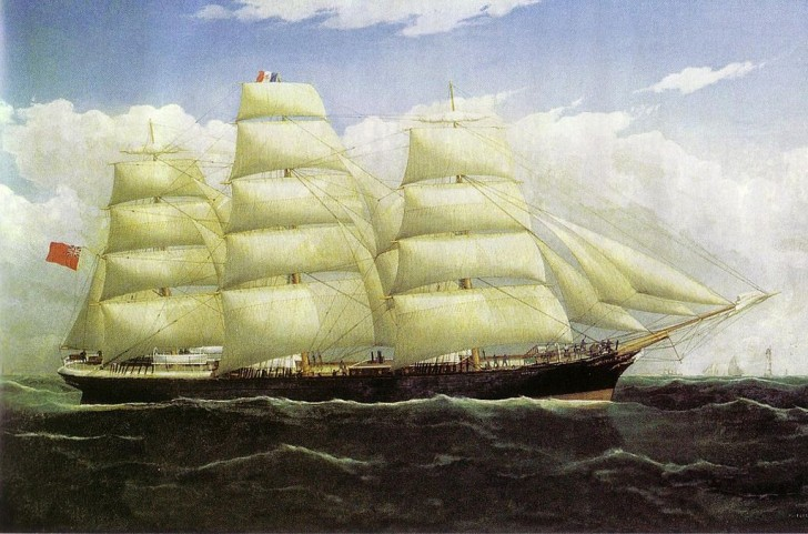 refrigerated clipper ship