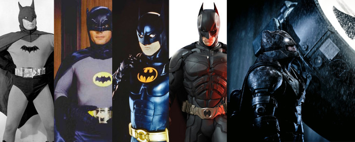 batman over time