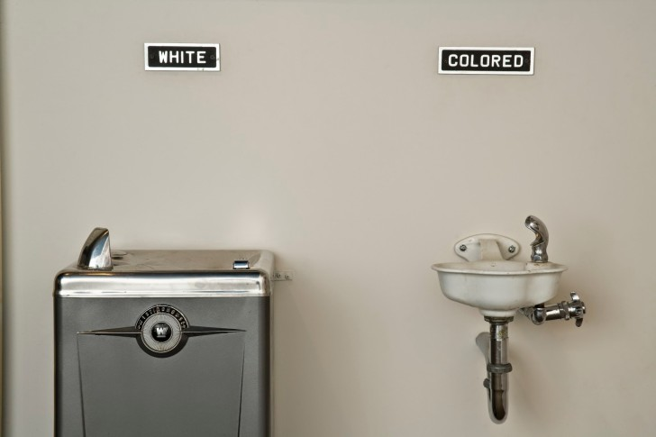 segregated water fountain