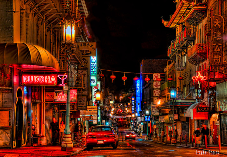 chinatown night