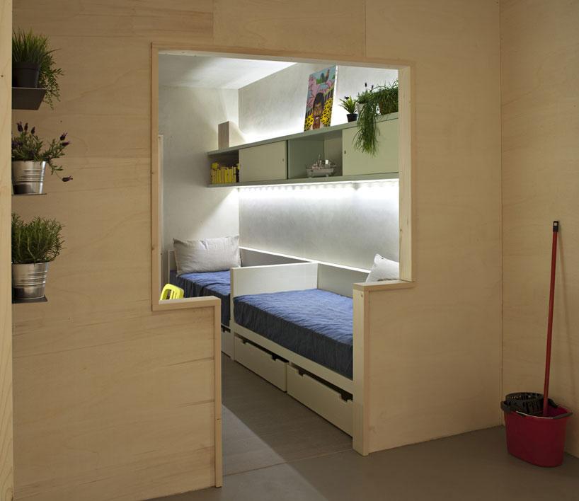 prison complex cell