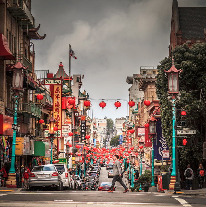 San Francisco Chinatown By Andrés Nieto Porras