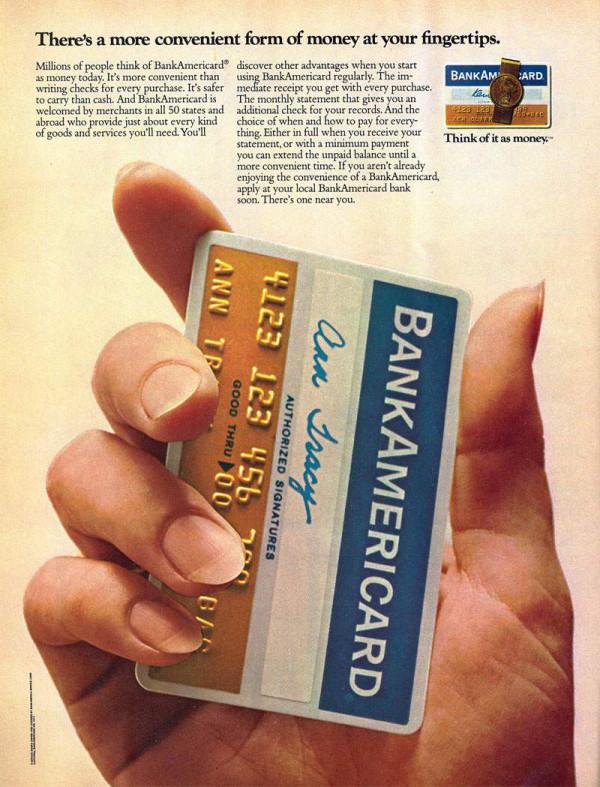vintage bank americard