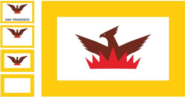 alternative sf flag design