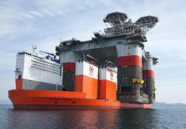 heavy lift ship platform