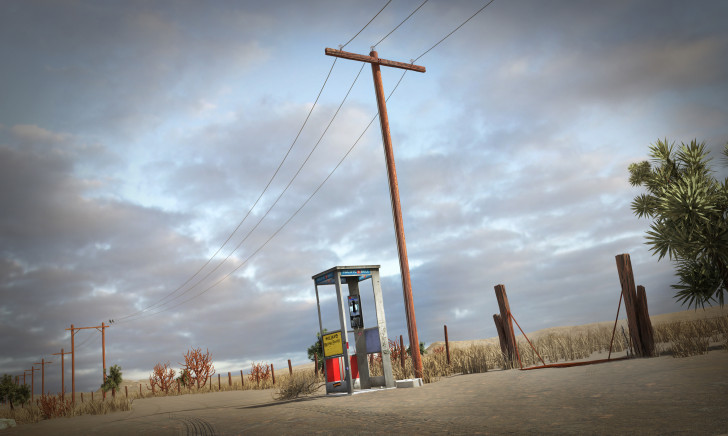 Mojave Phone Booth - 99% Invisible