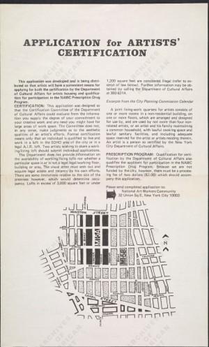 application for soho gentrification