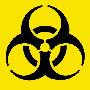 biohazard warning symbol