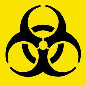 biohazard warning symbol