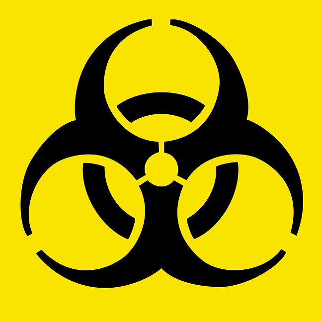 """Biohazard: Iconic Symbol Designed to be """"Memorable but ..."""