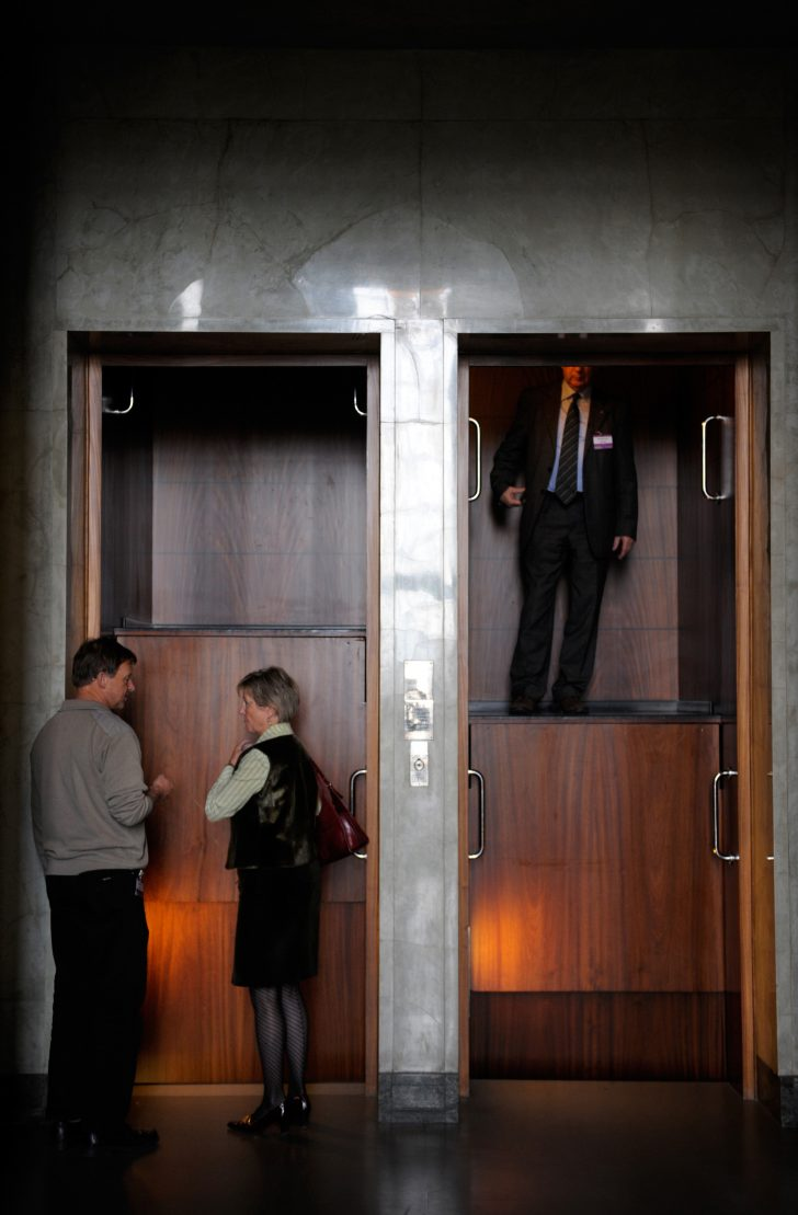 Paternoster Lifts Cyclic Chain Elevators With No Buttons