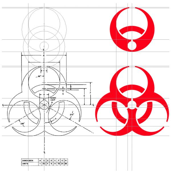 logo deconstruction