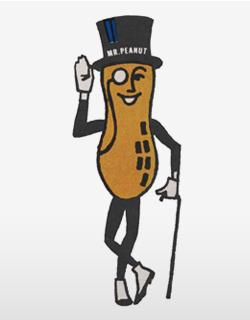 Mr. Peanut of Planters Peanuts