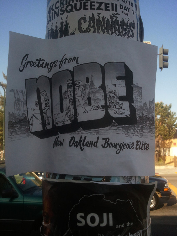 nobe city sign