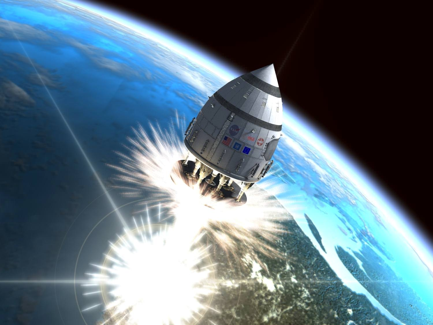 Retro Rockets: Nuclear Explosion-Powered Spaceships Of The