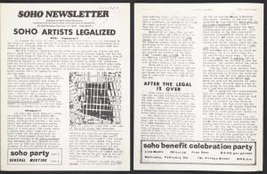 soho artists legalized