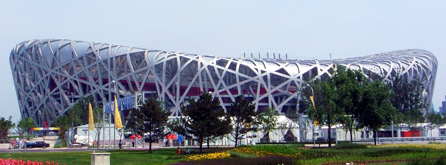 Olympic architects forgotten gold medals awarded for the for The bird s nest stadium
