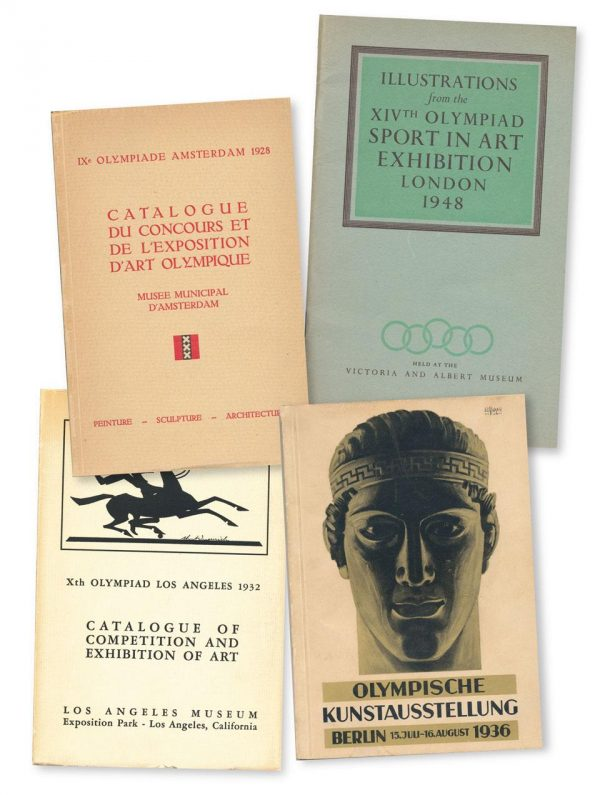 covers of olympic arts