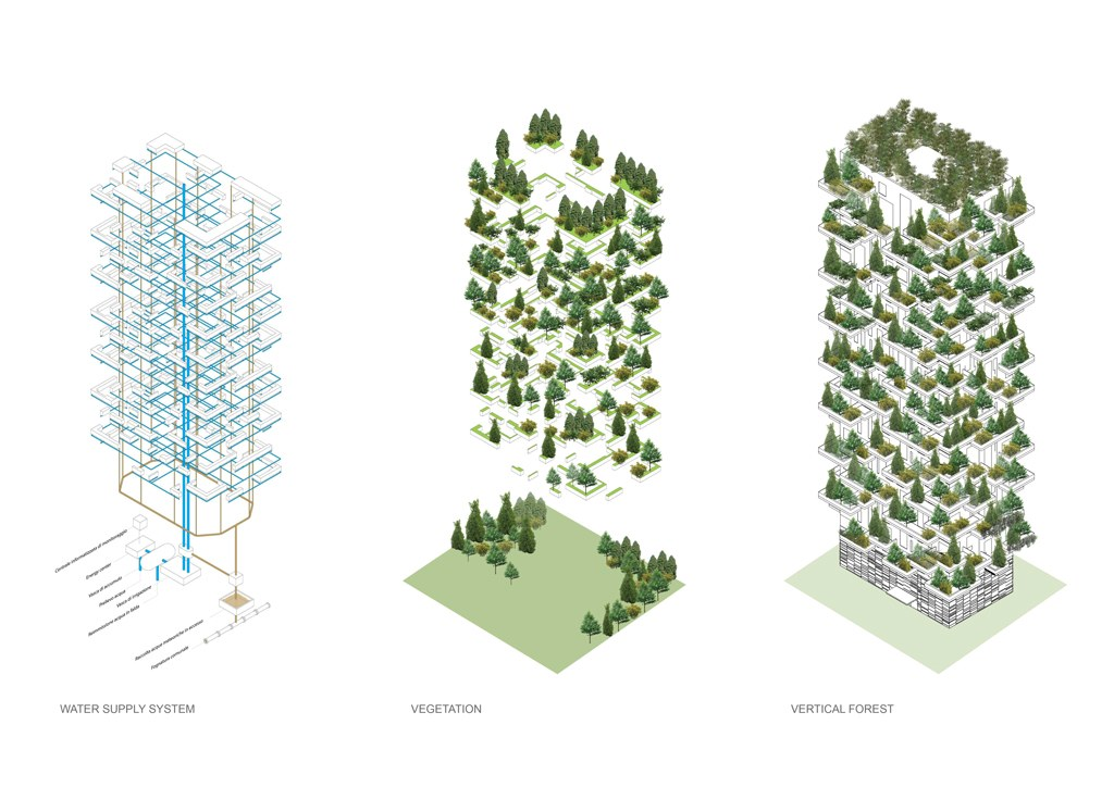 Renderings vs reality the improbable rise of tree for Green design