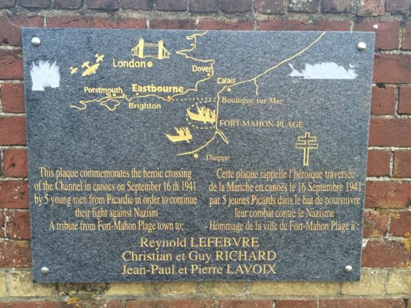 French Five plaque