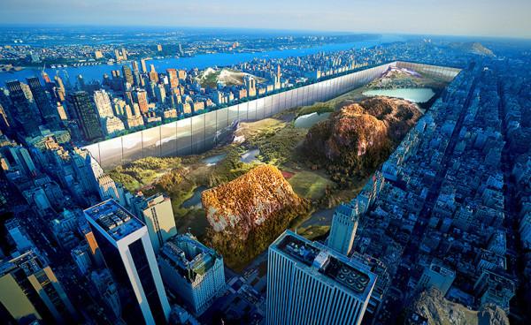New York Horizon for Central Park by Yitan Sun and Jianshi Wu