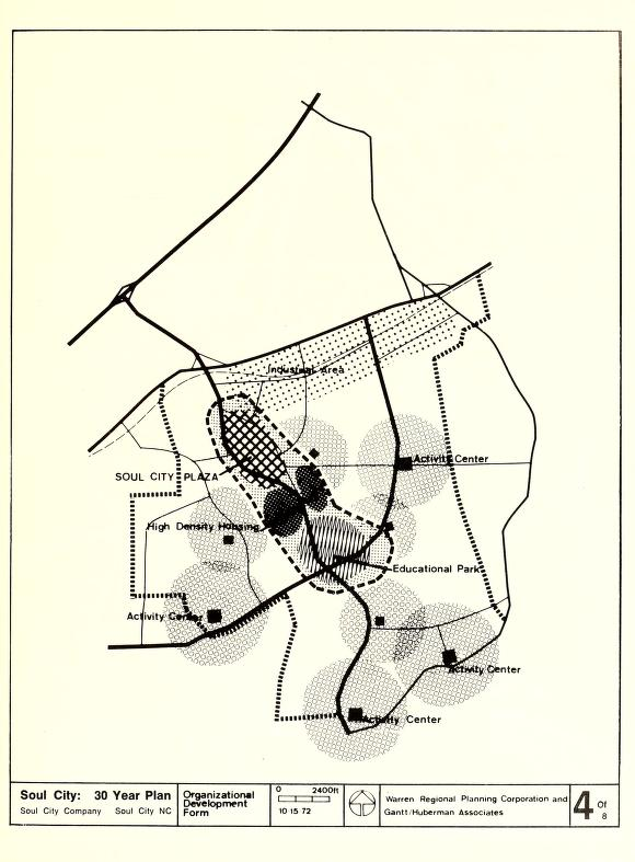 soul city 99 invisible 1970s People soul city 30 year plan map