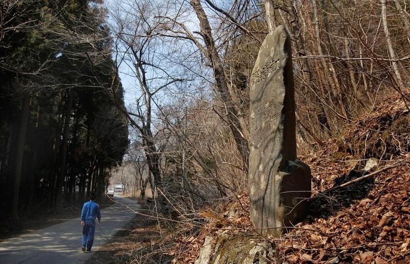 tsunami stone hillside