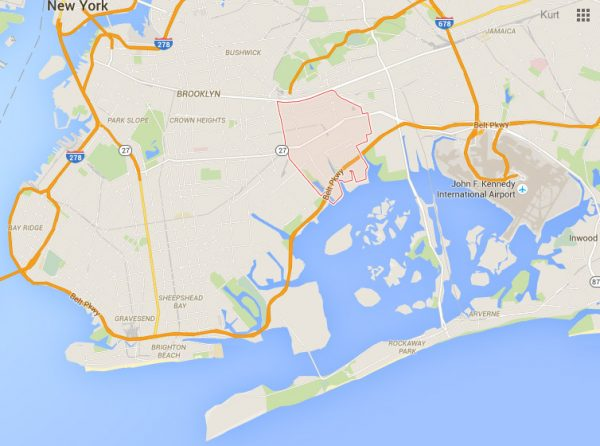 East New York Map Turf Wars of East New York   99% Invisible