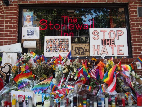 Stonewall Inn, 2016