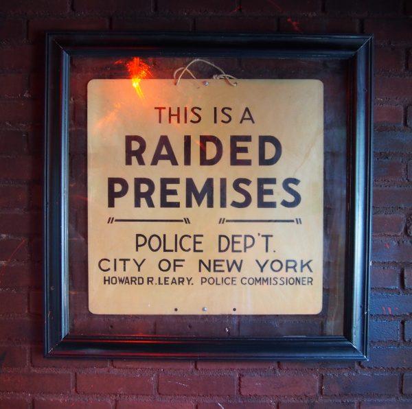 Raided Premises.