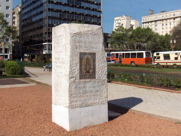 argentina zero monument stone