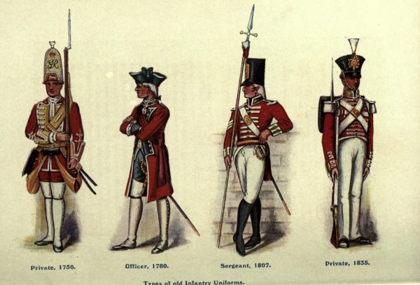 british military uniforms
