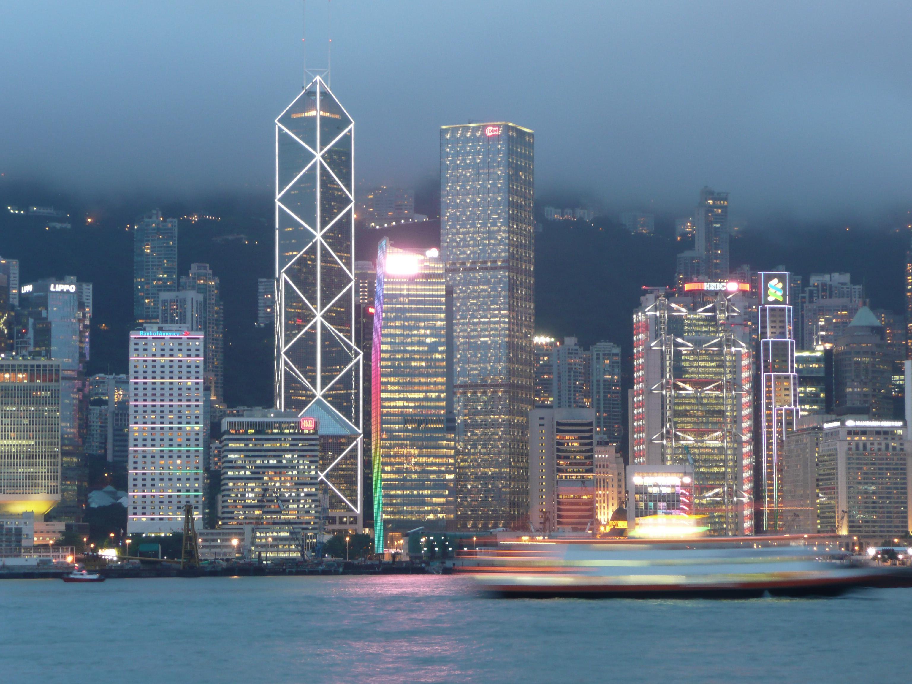 fighting towers hong kong