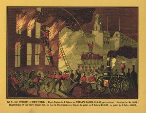 fire fighting in london