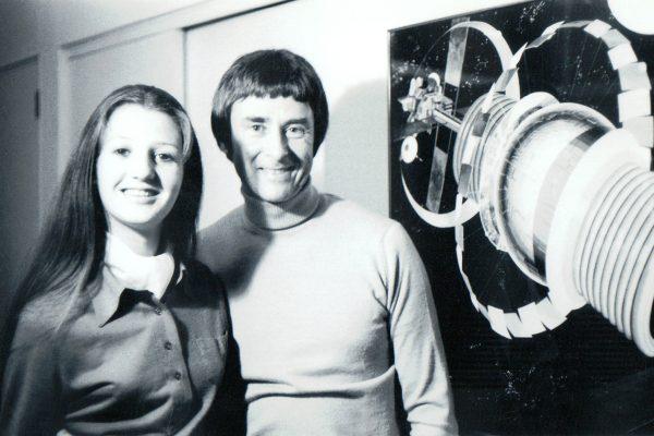 Gerard O'Neill and his wife Tasha. Image courtesy of Tasha O'Neill.