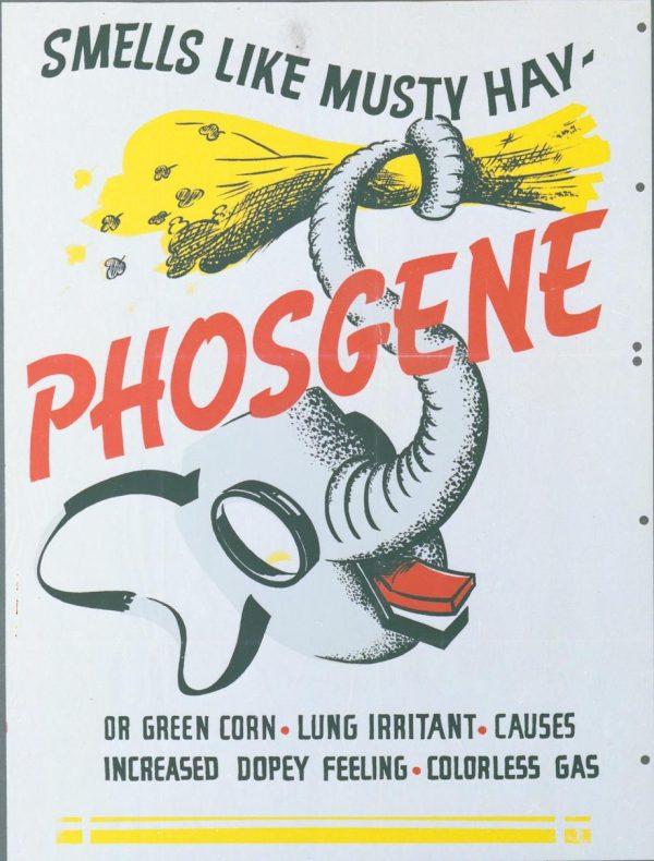 phosgene gas