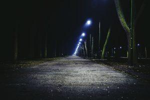 safe walking at night