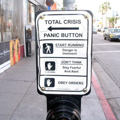 Total Crisis Panic Button by  Jason Eppink