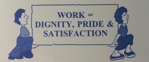 work dignity stuff