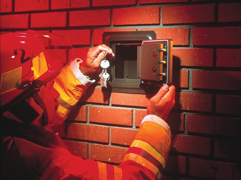 knox box wall safe