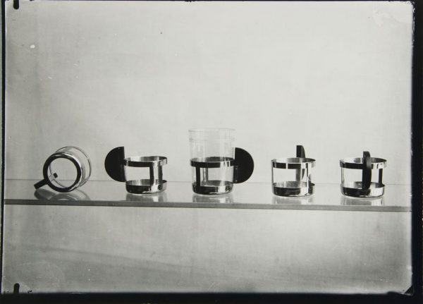 tea glass holders by Max Krajewski