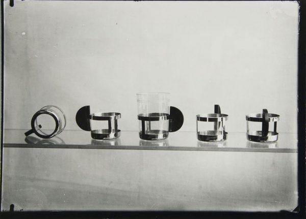 tea glass holders by Max Krajewski