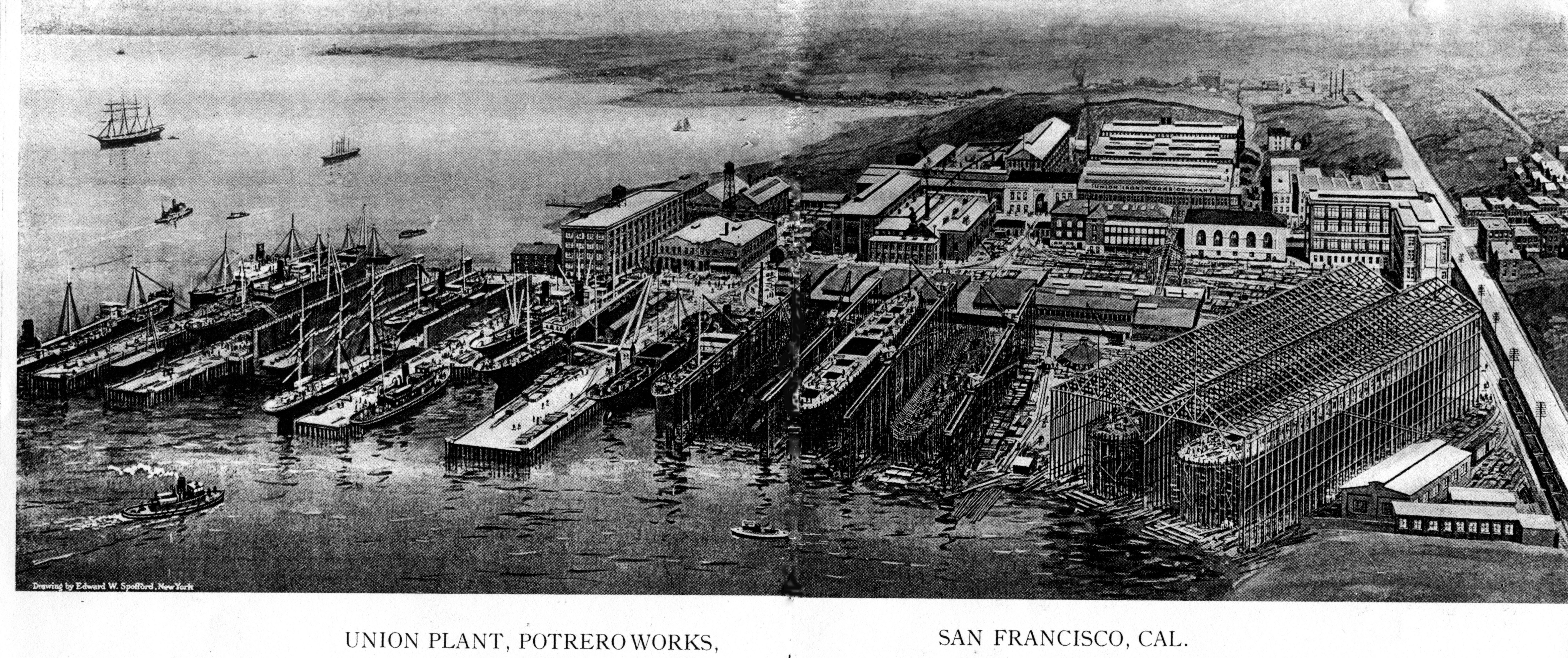 Pier 70 San Francisco Map.Making Up Ground 99 Invisible
